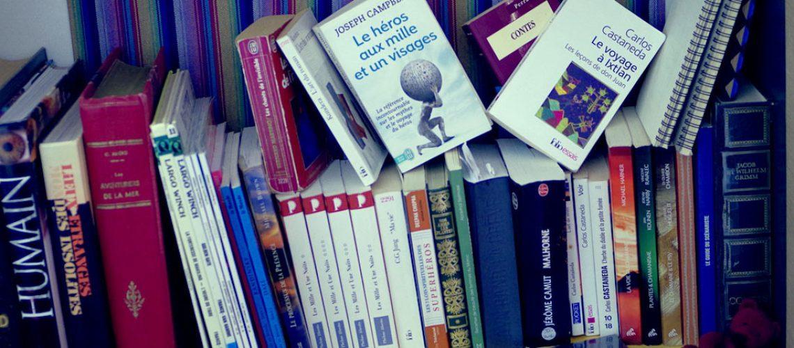 L'étagère à livres