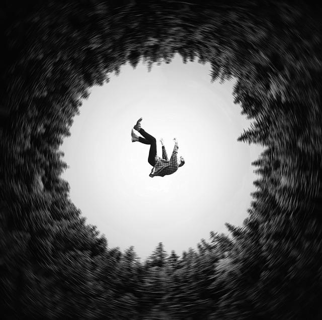 tomber dans le précipice Heather Plew - photo de