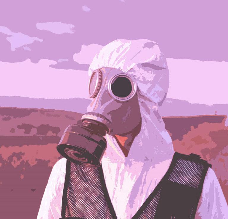 chimistes masque à gaz