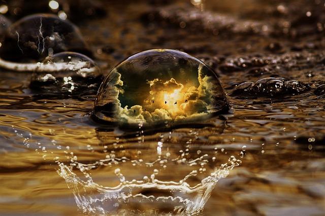l'univers dans une goutte d'eau