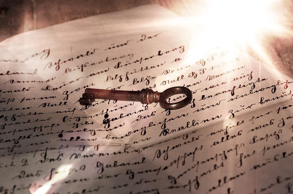 lettre secrète