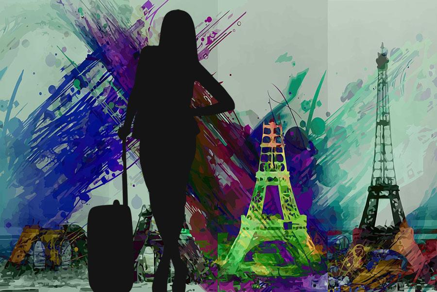 L'écrivaine solitaire à l'assaut de Paris